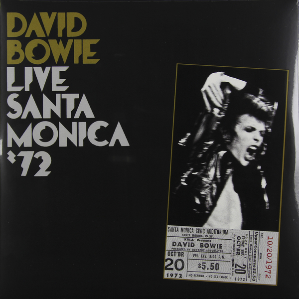 David Bowie David Bowie - Live Santa Monica '72 (2 LP) david bowie david bowie next day