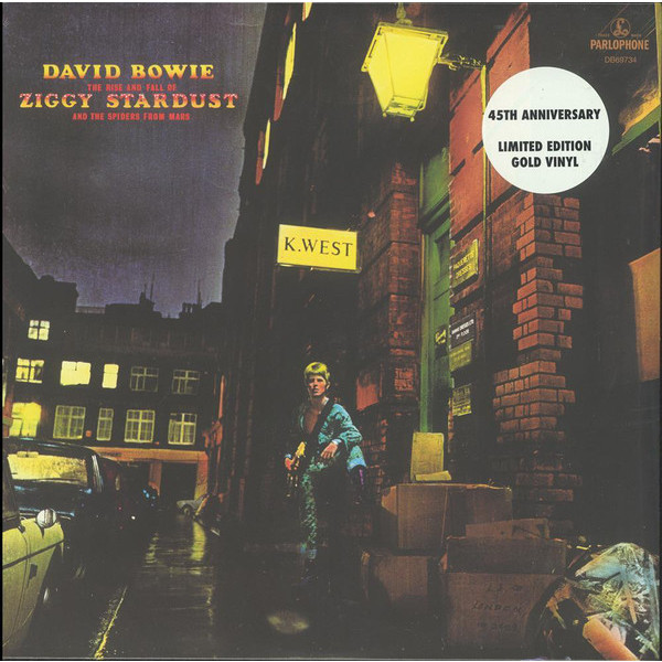 David Bowie David Bowie - The Rise And Fall Of Ziggy Stardust And The Spiders From Mars (colour Vinyl) david bowie david bowie ziggy stardust and the spiders from mars the motion picture soundtrack 2 lp 180 gr