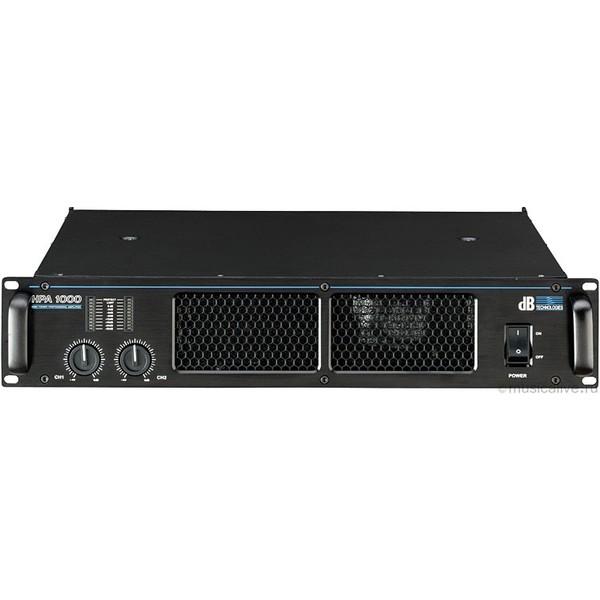 все цены на  Профессиональный усилитель мощности dB Technologies HPA1000  онлайн