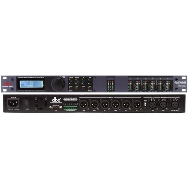 Контроллер/Аудиопроцессор dbx DriveRack 260 контроллер аудиопроцессор dbx driverack 260