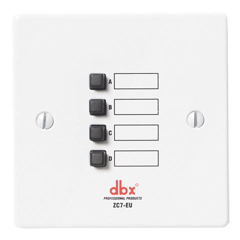 Панель управления dbx ZC-7 контроллер акустических систем dbx zc fire