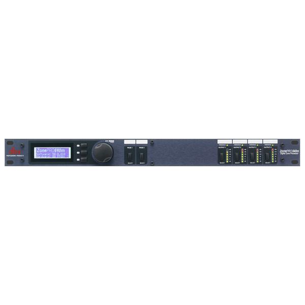 Контроллер/Аудиопроцессор dbx ZonePRO 640m аксессуар dbx gorack 2x2 pa спикер процессор