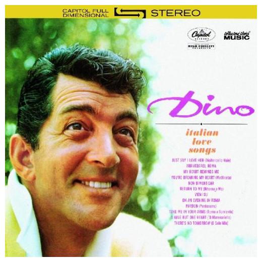 DEAN MARTIN DEAN MARTIN - DINO: ITALIAN LOVE SONGS dean ebubinga