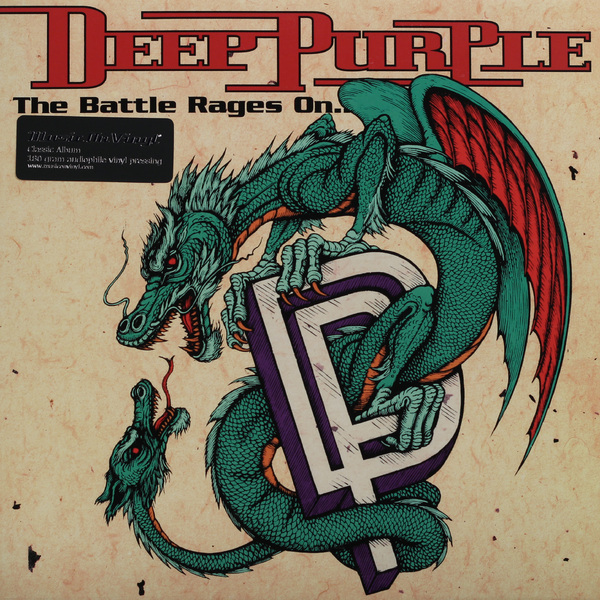 Deep Purple Deep Purple - Battle Rages On (180 Gr) deep purple deep purple stormbringer 35th anniversary edition cd dvd