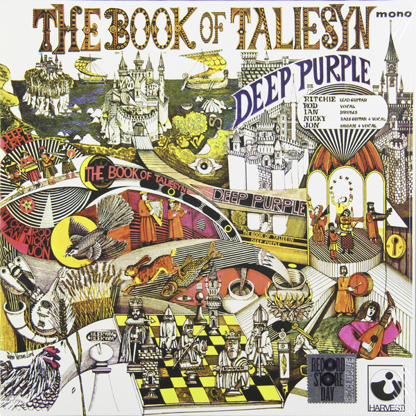 Deep Purple Deep Purple - Book Of Taliesyn deep purple deep purple stormbringer 35th anniversary edition cd dvd