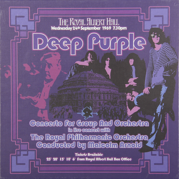 Deep Purple Deep Purple - Concerto For Group And Orchestra (3 LP) deep purple deep purple stormbringer 35th anniversary edition cd dvd