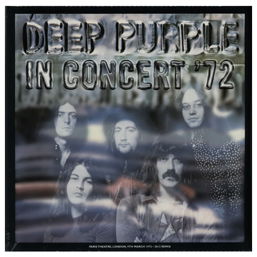 Deep Purple Deep Purple - In Concert '72 (2 Lp + 7 ) deep purple deep purple stormbringer 35th anniversary edition cd dvd
