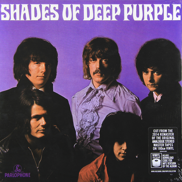 DEEP PURPLE DEEP PURPLE - SHADES OF DEEP PURPLE (180 GR)
