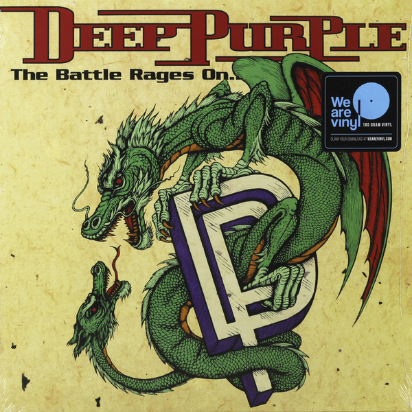 Deep Purple Deep Purple - The Battle Rages On (180 Gr) deep purple deep purple stormbringer 35th anniversary edition cd dvd