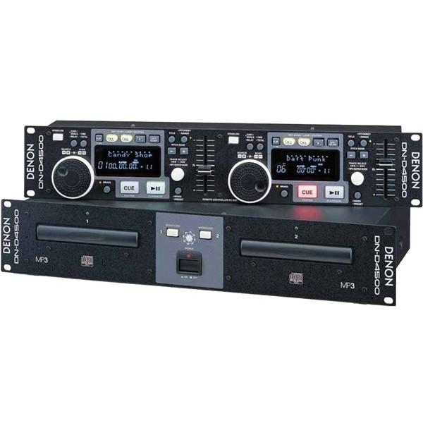 DJ CD проигрыватель Denon DN-D4500 профессиональный проигрыватель apart pc1000rmkii black