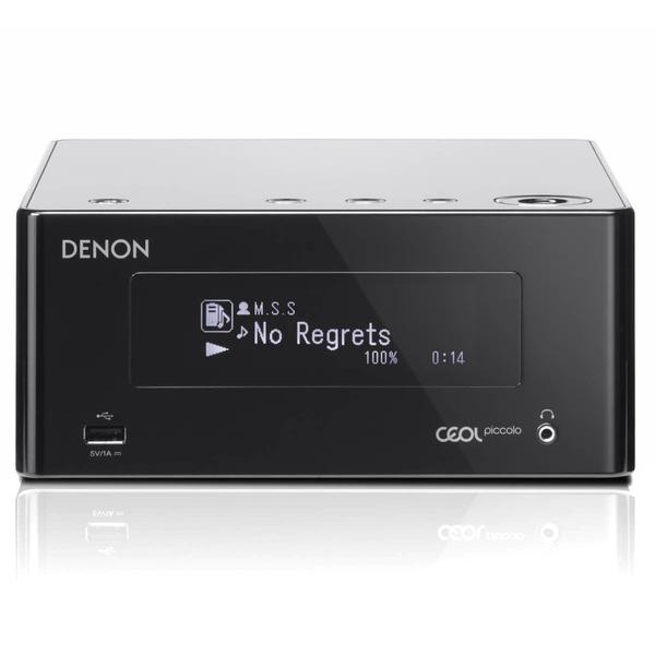 Стереоресивер DenonСтереоресивер<br>Стереоресивер с поддержкой сетевых функций, мощность 2 х 40 Вт, Wi-Fi, Bluetooth, входы: RCA, оптический, Ethernet, выходы: сабвуфер, наушники, АС, габариты 200 х 90 х 240 мм, вес 2,3 кг.<br>
