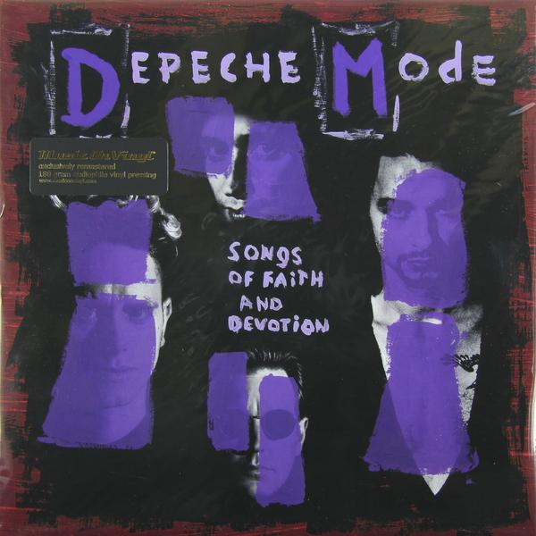 DEPECHE MODE DEPECHE MODE - SONGS OF FAITH AND DEVOTION (180 GR)