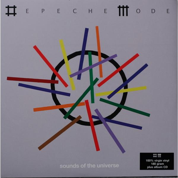 DEPECHE MODE DEPECHE MODE-SOUNDS OF THE UNIVERSE (2 LP + CD, 180 GR)Виниловая пластинка<br><br>