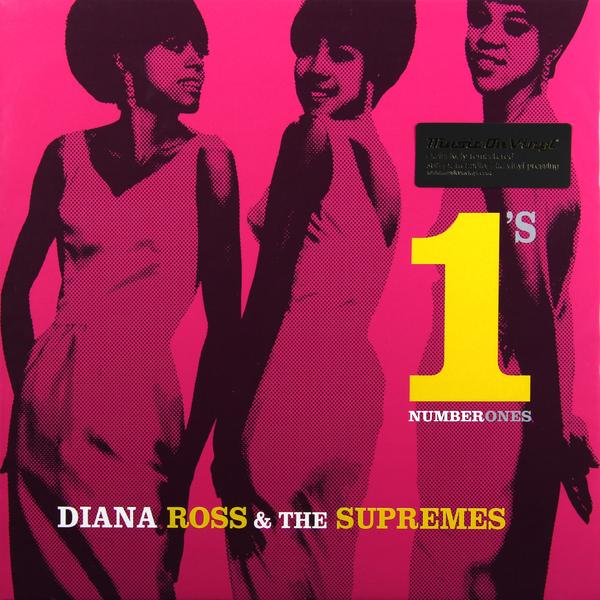 купить  DIANA ROSS DIANA ROSS AND THE SUPREMES - NO 1S (2 LP)  онлайн