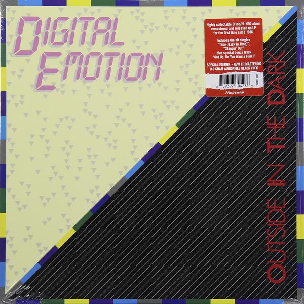 DIGITAL EMOTION DIGITAL EMOTION - OUTSIDE IN THE DARKВиниловая пластинка<br><br>