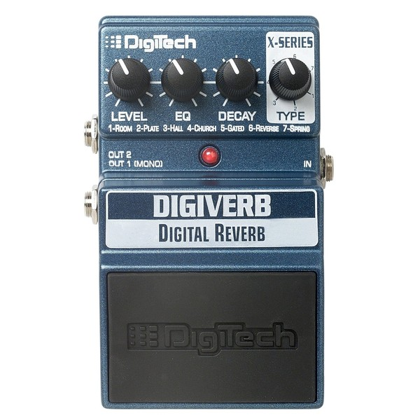 ������ �������� Digitech XDV DigiVerb Digital Reverb