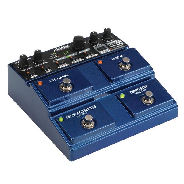 Педаль эффектов DigitechПедаль эффектов<br>Компактный лупер/семплер, память на 99 лупов длиной более 35 мин плюс SD-слот, формат WAV 24 бит / 44, кГц,  управление по USB, выход на наушники, габариты 170 х 73 х 173 мм, вес 1 кг.<br>