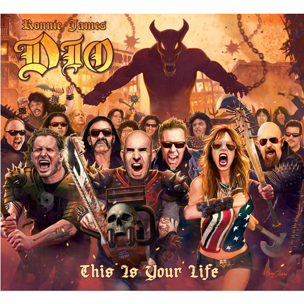DIO DIO TRIBUTE - RONNIE JAMES DIO: THIS IS YOUR LIFE (2 LP) джеймс тейлор james taylor before this world lp