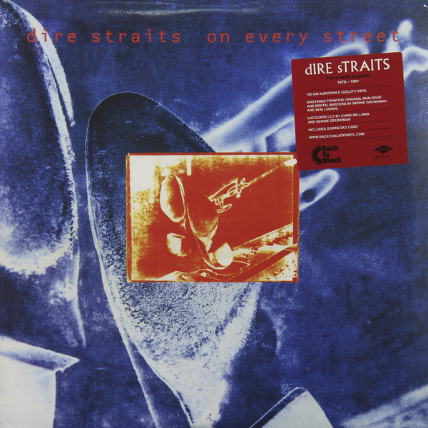 Dire Straits Dire Straits - On Every Street (2 Lp, 180 Gr) dire straits dire straits mark knopfler the best of 2 lp