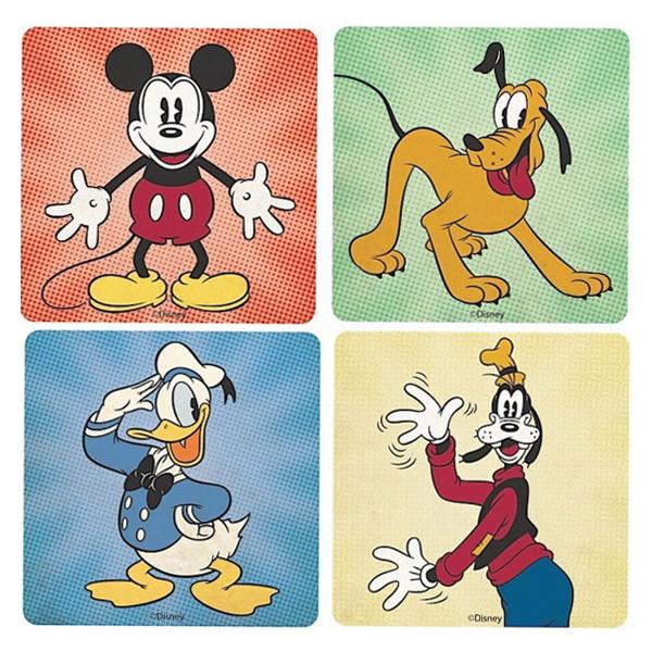 Подставки под стаканы Disney - Mickey, Donald, Pluto   Goofy (4 шт.)