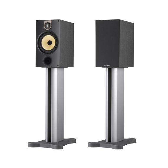 Полочная акустика B&amp;WПолочная акустика<br>Старшая полочная акустическая система фирменной серии 600. Динамик: 165 мм, импеданс 4-8 Ом, чувствительность 87 дБ,  диапазон частот 52 Гц – 22 кГц, габариты 190х345х324 мм, вес 6,8 кг.<br>