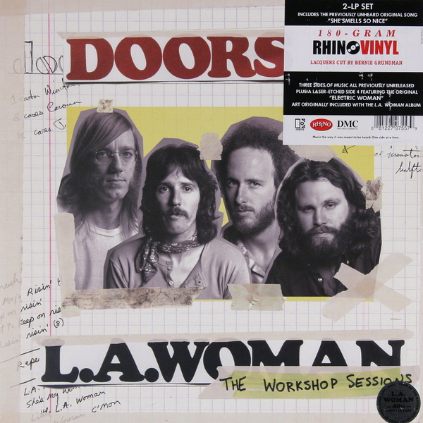 The Doors The Doors - La Woman (the Workshop Sessions) (2 Lp, 180 Gr) the doors – the doors lp 3 cd