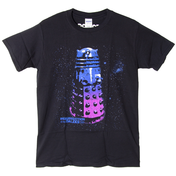 �������� ������� Dr Who - Dalek Black (������ XL)