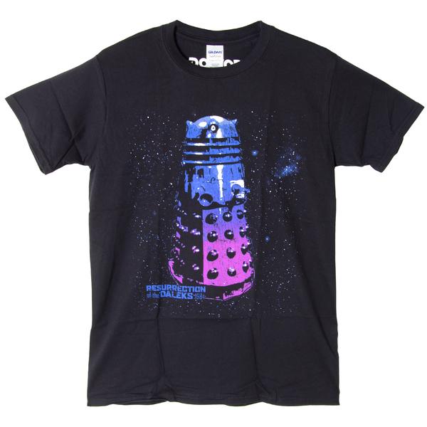 Футболка мужская Dr Who - Dalek Black (размер XL)