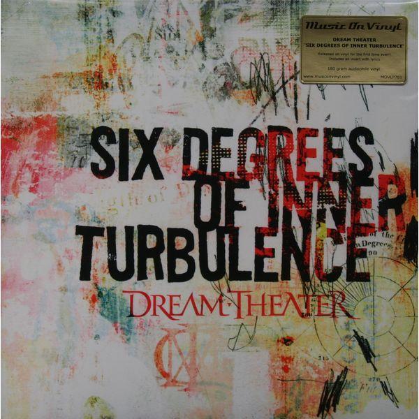 DREAM THEATER DREAM THEATER - SIX DEGREES OF INNER TURBULENCE (2 LP, 180 GR)Виниловая пластинка<br><br>