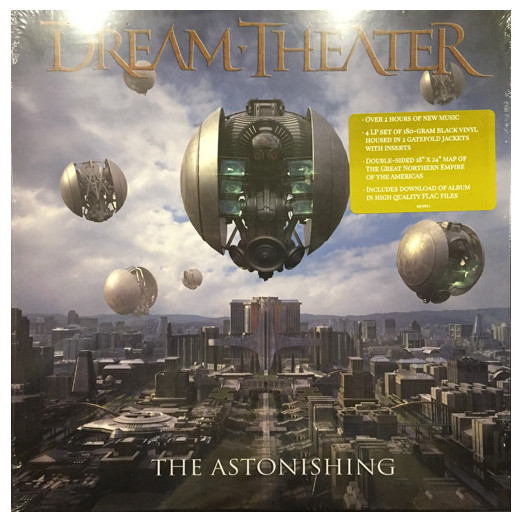 DREAM THEATER DREAM THEATER - THE ASTONISHING (4 LP) the cure 4 13 dream