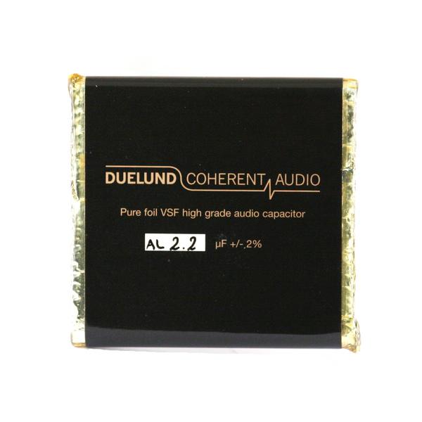 Конденсатор DuelundКонденсатор<br>Напряжение, В: 100; Размер, мм: 8 x 62 x 63; Ёмкость, мкФ: 2.2<br>