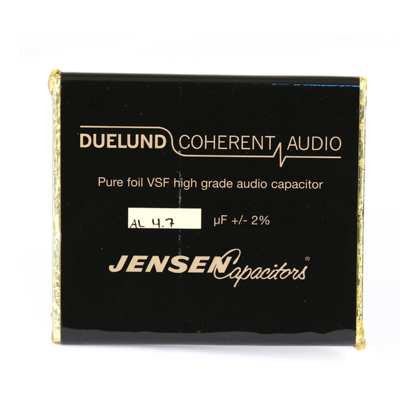 Конденсатор Duelund VSF 100 V 4.7 uF aluminium конденсатор duelund vsf 100 v 30 uf aluminium