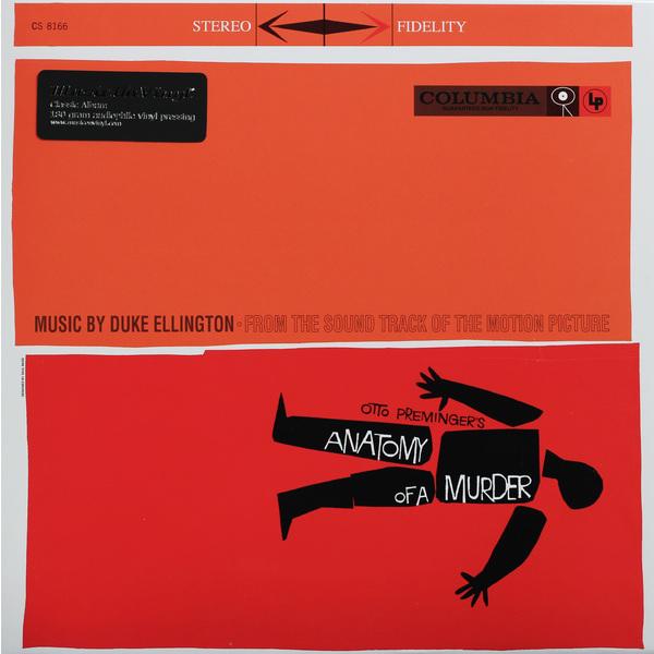 САУНДТРЕК САУНДТРЕК - ANATOMY OF A MURDER (180 GR) саундтрек саундтрек jaws 180 gr