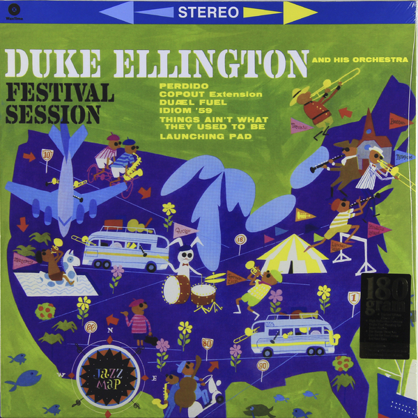 DUKE ELLINGTON DUKE ELLINGTON - FESTIVAL SESSION (180 GR)