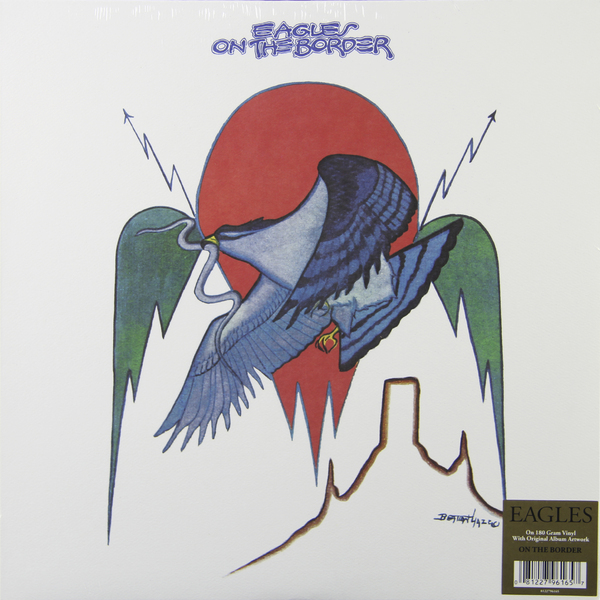 Eagles Eagles - On The Border (180 Gr) bahram navazeni iran and the eagles