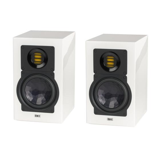 Полочная акустика ELAC BS 243.3 High Gloss White акустика центрального канала piega classic center large macassar high gloss