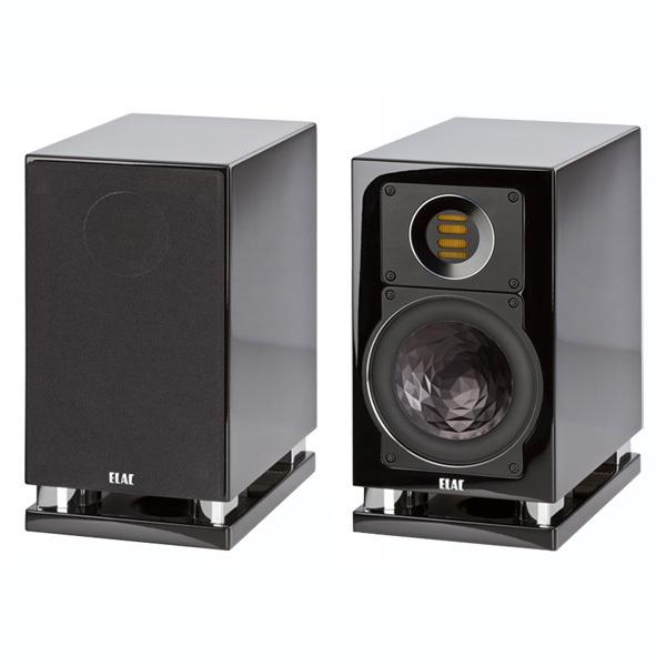 Полочная акустика ELACПолочная акустика<br>Полочная акустика, 2 полосы, фазоинвертор, сопротивление 4 Ом, чувствительность 86 дБ, частотный диапазон 41 Гц – 50 кГц, габариты 166 х 308 х 294 мм, масса 7,3 кг.<br>