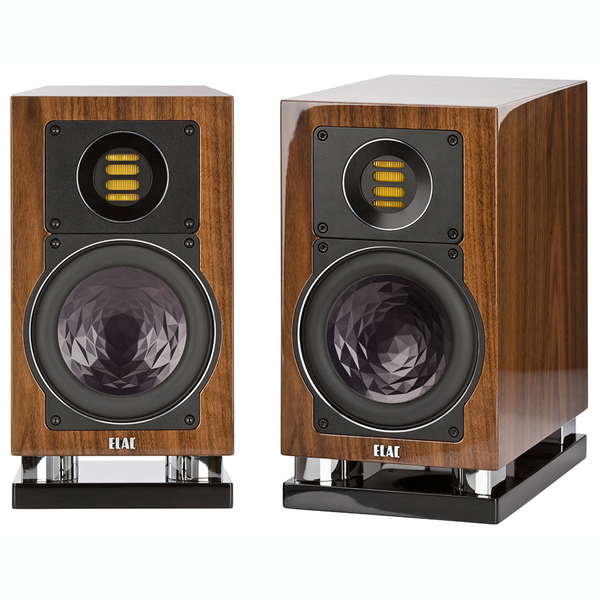 Полочная акустика ELAC BS 403 High Gloss Walnut полочная акустика piega classic 3 0 macassar high gloss