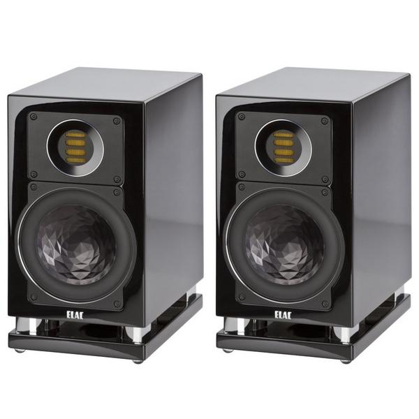 Активная полочная акустика ELAC Air-X 403 High Gloss Black kicx dtc 36
