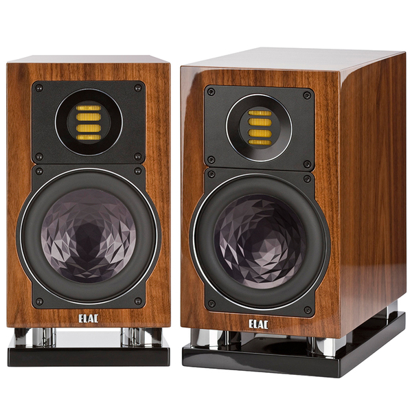 Активная полочная акустика ELAC Air-X 403 High Gloss Walnut акустика центрального канала piega classic center large macassar high gloss