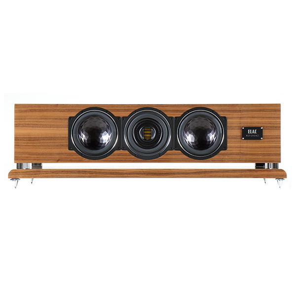 Центральный громкоговоритель ELAC CC 501 VX-JET High Gloss Walnut акустика центрального канала piega classic center large macassar high gloss