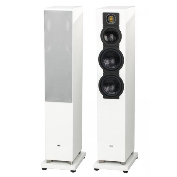Напольная акустика ELAC FS 249.3 High Gloss White акустика центрального канала piega classic center large macassar high gloss