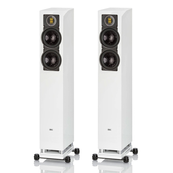 Напольная акустика ELAC FS 407 High Gloss White акустика центрального канала heco elementa center 30 white satin