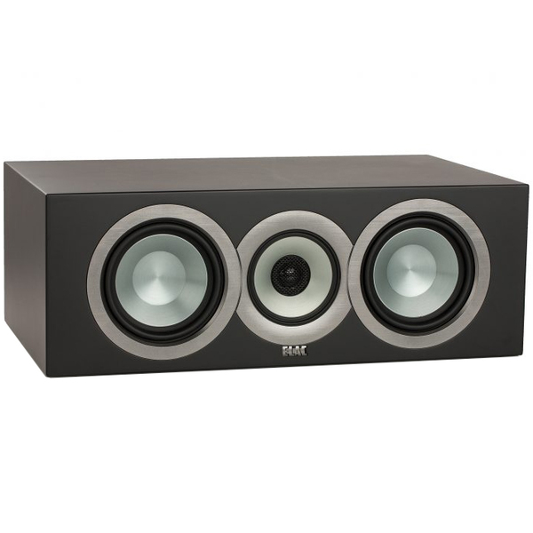 Центральный громкоговоритель ELAC Uni-Fi CC U5 Slim Satin Black акустика центрального канала paradigm studio cc 490 v 5 black