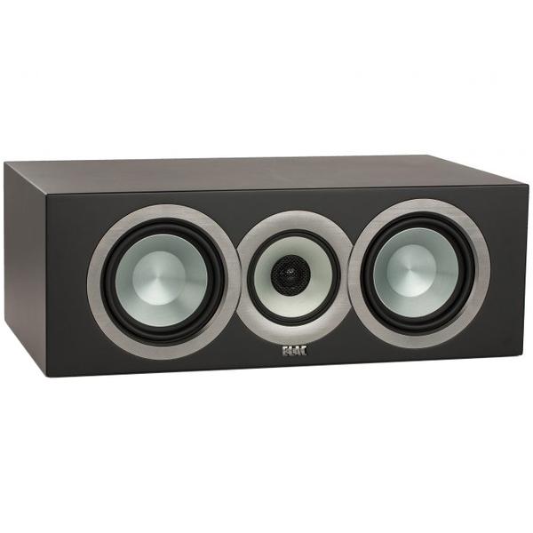 Центральный громкоговоритель ELAC Uni-Fi CC U5 Slim Satin Black акустика центрального канала paradigm studio cc 590 v 5 piano black
