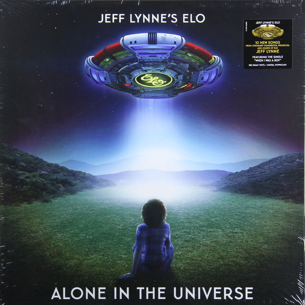 ELECTRIC LIGHT ORCHESTRA ELECTRIC LIGHT ORCHESTRA - JEFF LYNNES ELO - ALONE IN THE UNIVERSEВиниловая пластинка<br><br>