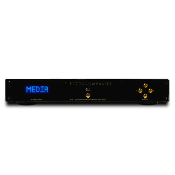 Сетевой проигрыватель ElectrocompanietСетевой проигрыватель<br>Сетевой проигрыватель с цифровыми входами, ЦАП CS4398, Wi-Fi,  входы: Ethernet, 2 коаксиальных (24 бит/192 кГц), 2 оптических, 4 х USB для внешних накопителей, управление через iOS или Android, габариты 465x78x371 мм, вес 8,5 кг.<br>