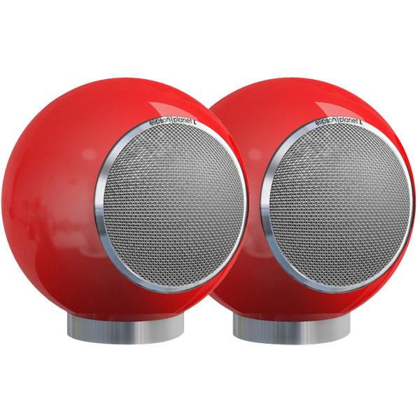 Полочная акустика ElipsonПолочная акустика<br>Сферическая АС, чувствительность 90 дБ, 2 полосы, мощность 60 Вт, бумажный динамик 6,5 , шелковый твитер 1' , размер 290 x 290 x 290 мм, подставка.<br>