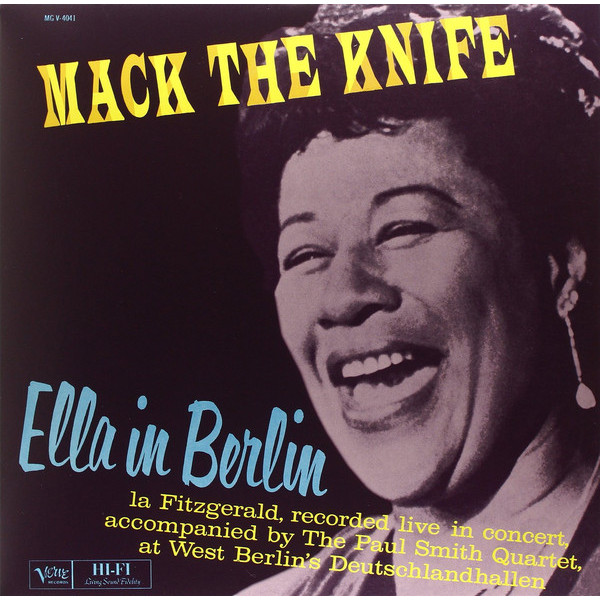 ELLA FITZGERALD ELLA FITZGERALD - MACK THE KNIFE: ELLA IN BERLIN ella luna свитер