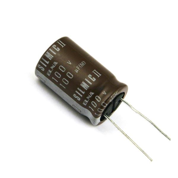 Конденсатор ELNA Silmic II 100V 100 uF конденсатор elna silmic ii 100v 10 uf